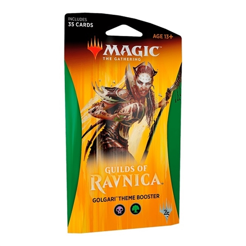 Guilds of Ravnica - Theme Booster Golgari (Sort-Grøn) - Magic the Gathering