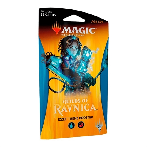 Guilds of Ravnica - Theme Booster Izzet (Blå-Rød) - Magic the Gathering