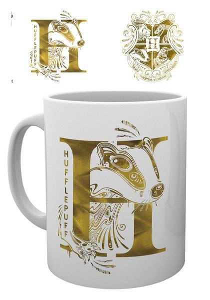 Harry Potter - Hufflepuff Monogram - Krus