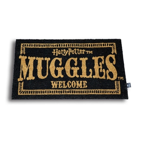 Harry Potter - Muggles Welcome - Dørmåtte 43X72cm