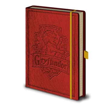Harry Potter - Premium Gryffindor A5 - Notesbog