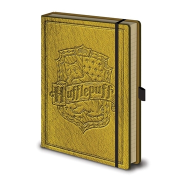Harry Potter - Premium Hufflepuff A5 - Notesbog