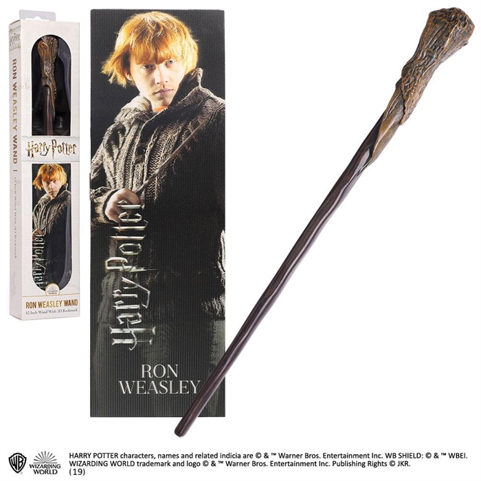 Harry Potter - Ron Weasley Tryllestav 30 cm
