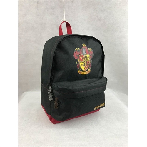 Harry Potter Gryffindor Black Burgundy - Rygsæk