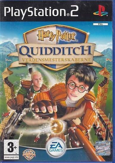 Harry Potter Quidditch World Cup - PS2 (Genbrug)