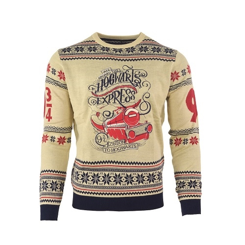Harry Potter - Hogwarts Express - Strik Julesweater