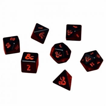 Heavy Metal 7 RPG Set Dice for Dungeons & Dragons Rollespils terninger