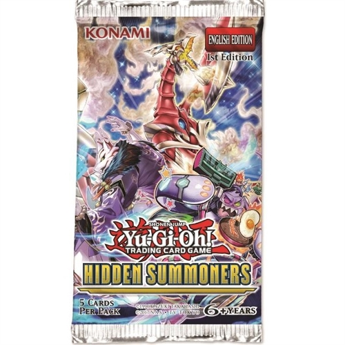Hidden Summoners - Booster Pakker - Yu-Gi-Oh kort