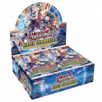 Hidden Summoners - Booster box Display (24 Booster Pakker) - Yu-Gi-Oh kort