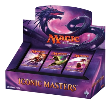 Iconic Masters 2017 - Booster Display (24 Booster Pakker) - Magic The Gathering