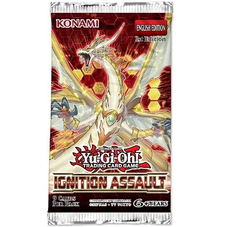 Ignition Assault - Booster Pakke - Yu-Gi-Oh kort