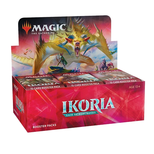 Ikoria Lair of Behemoths - Booster Box Display (36 Booster Pakker) - Magic the Gathering