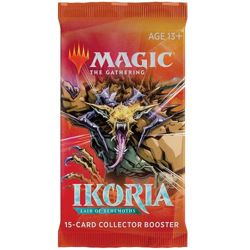 Ikoria Lair of Behemoths - Collector Booster Pakke - Magic the Gathering