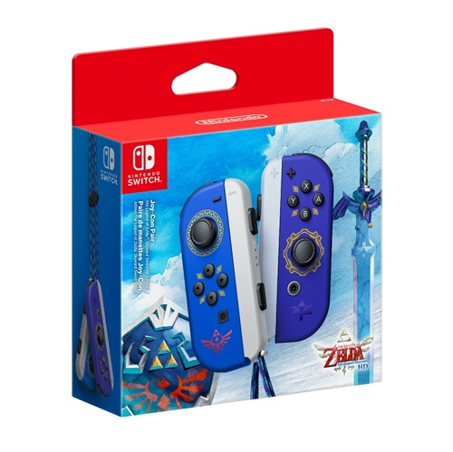Joy-Con Pair Legend of Zelda Skyward Sword HD Edition - Nintendo Switch tilbehør