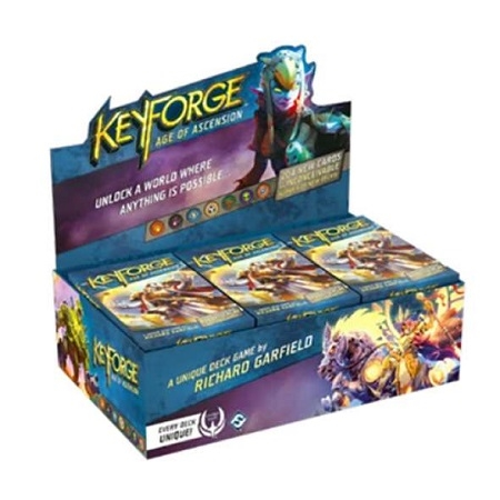 KeyForge - Age of Ascension Archon Deck Display (12 Decks)