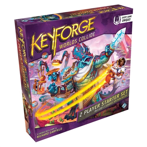 KeyForge - Worlds Collide - Two-player Starter Set