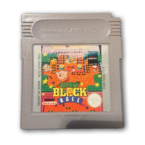 Kirby's Block Ball - Gameboy original (B-Grade) (Genbrug)