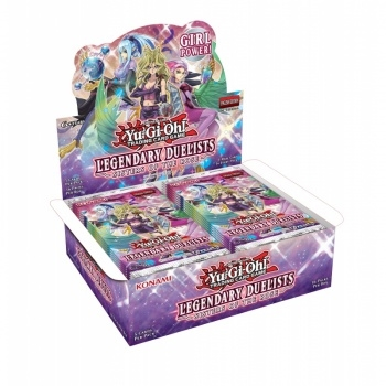Legendary Duelists Sisters of the Rose - Booster Box Display - Yu-Gi-Oh kort