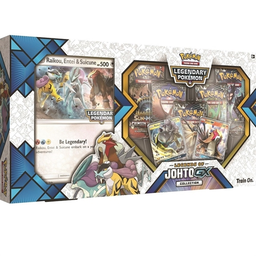 Legends of Johto GX Premium Collection - Pokemon kort