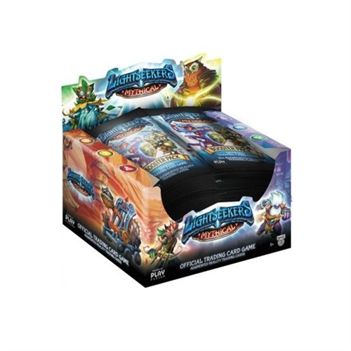 Lightseekers TCG -  Booster Box Display - Wave 2 Mythical (24 Booster Pakker)