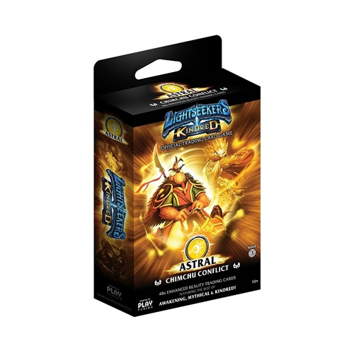 Lightseekers TCG -  Wave 3 Kindred - Starter Deck - ASTRAL Chimchu Conflict