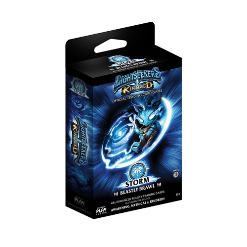 Lightseekers TCG -  Wave 3 Kindred - Starter Deck - STORM Beastly Brawl