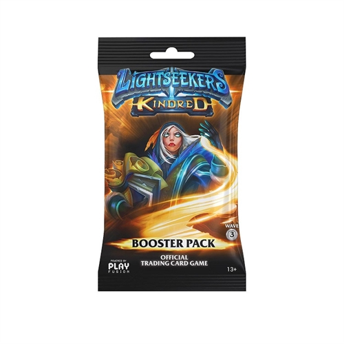 Lightseekers TCG - Wave 3 Kindred - Booster Pakke