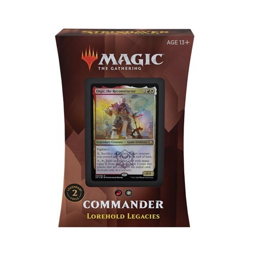 Commander deck - Lorehold Legacies - Strixhaven School of Mages - Magic The Gathering