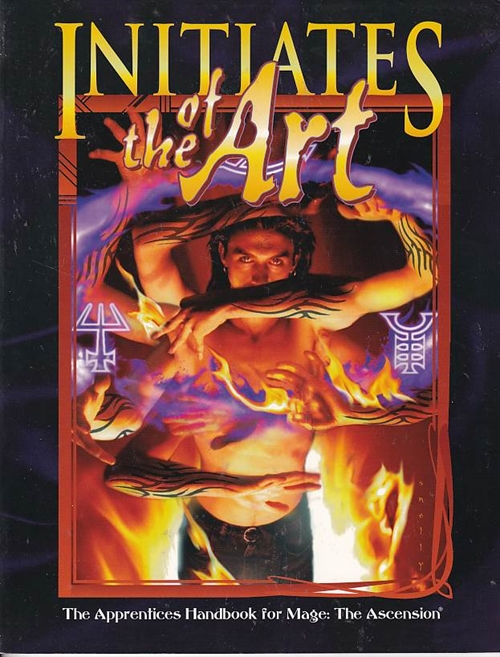 Mage The Ascension - Initiates of the Art (B Grade) (Genbrug)