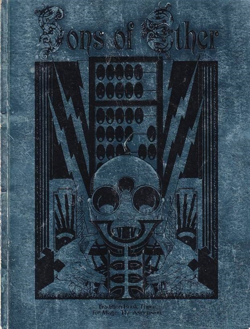 Mage The Ascension - Sons of Ether Tradition book (Genbrug)