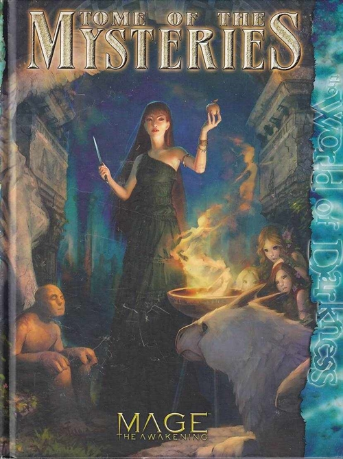 Mage The Awakening - Tome of the Mystieries (B Grade) (Genbrug)