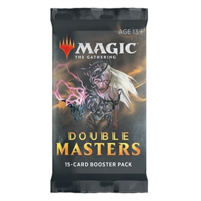 Magic The Gathering - Double Masters Draft Booster Pakke