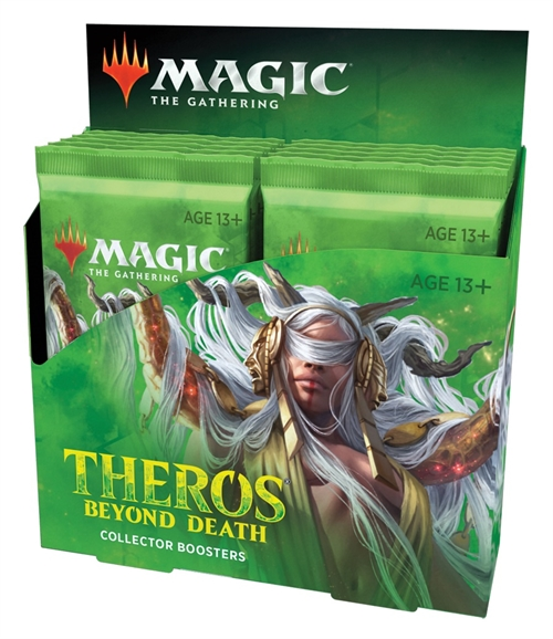 Theros Beyond Death - Collector Booster Box Display (12 Booster Pakker) - Magic the Gathering