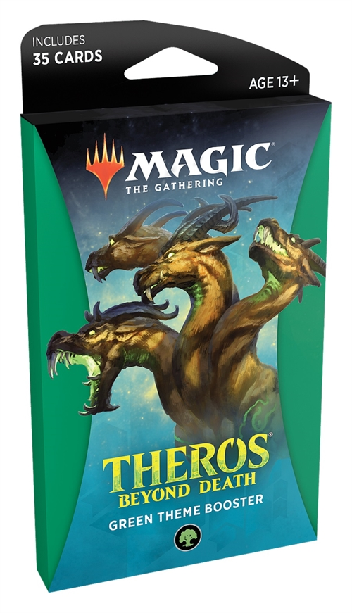 Theros Beyond Death - Theme Booster Pakke Green - Magic the Gathering