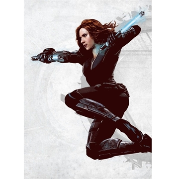 Marvel Comics -  Black Widow - 32 x 45 cm Metal Skilt