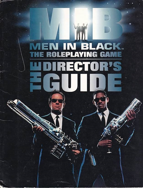 Men in Black - GM Screen (B-Grade) (Genbrug)