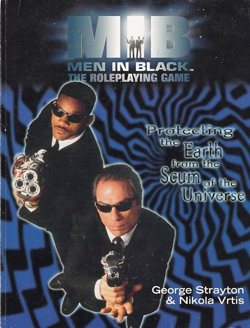 Men in Black - The Roleplaying Game (B-Grade) (Genbrug)