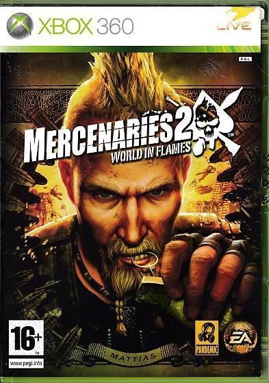 Mercenaries 2 World in Flames - XBOX 360 (B Grade) (Genbrug)