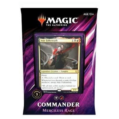 Merciless Rage (Madness) - Commander 2019 Deck - Magic The Gathering