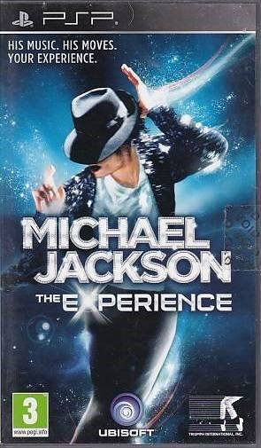 Michel Jackson The Experience - PSP Spil (B Grade) (Genbrug)