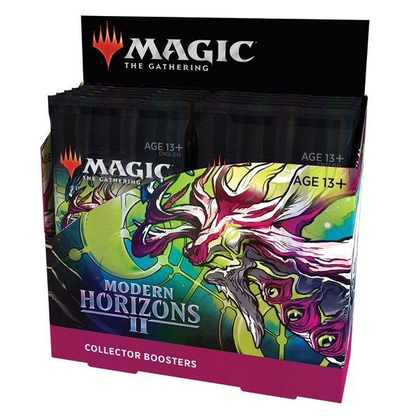 Magic the Gathering - Modern Horizons 2 - Collector Booster Box Display (12 Booster Pakker)