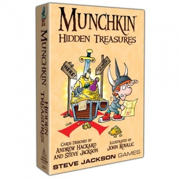 Munchkin Udvidelse - Hidden Treasure - Party Game