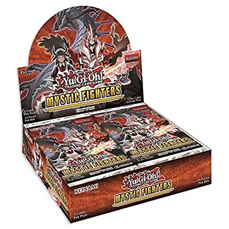 Mystic Fighters - Booster box Display (24 Booster Pakker) - Yu-Gi-Oh kort