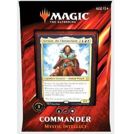 Mystic Intellect (flashback) - Commander 2019 Deck - Magic The Gathering