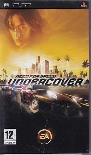 Need for Speed Undercover - PSP Spil (B Grade) (Genbrug)