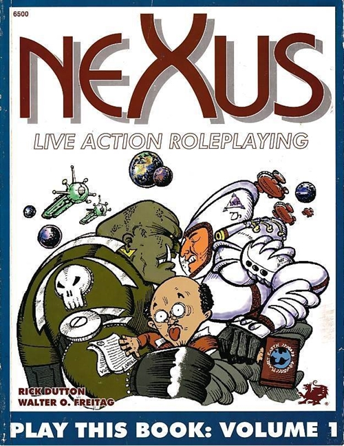 Nexus Live Action Roleplaying - Play This Book Volume 1 (B Grade) (Genbrug)