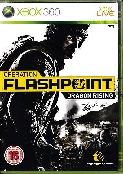 Operation Flashpoint Dragon Rising - XBOX 360 (B Grade) (Genbrug)