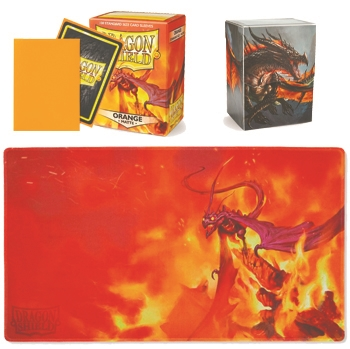 Dragon Shield Bundle - ORANGE
