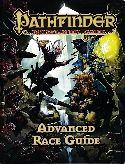 Pathfinder - Advanced Race Guide (B Grade) (Genbrug)