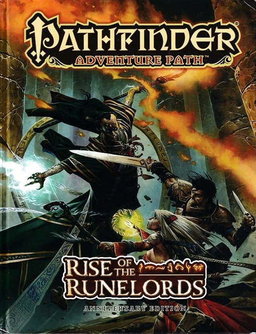 Pathfinder - Adventure Path - Rise of the Runelords - Anniversary Edition (B Grade) (Genbrug)